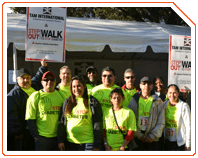 "TAM was a corporate sponsor at the ""Walk to Stop Diabetes"